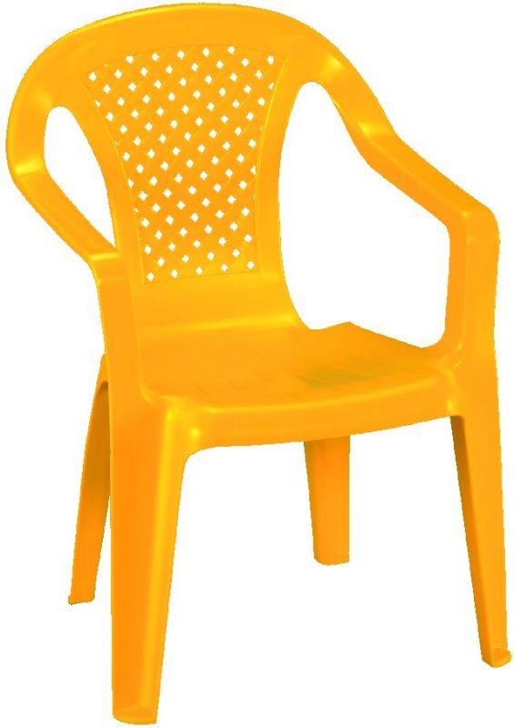 Křeslo dětské žluté-Baby