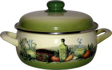 Rendlík smalt 24 cm 5,3 l zelené olivy