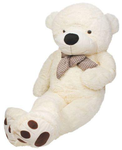 Plyšový medvěd bílý 100 cm