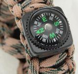 Náramek OUTDOOR s kompasem a doplňky