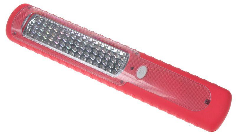 AKU LED svítilna 60LED pracovní i rekreační lampa s dynamem a magnetem