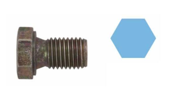 závitová zátka, olejová vana bez těsnícího kroužku pro vozy BMW