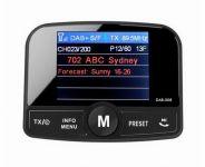 DAB přijímač / Bluetooth HF + přehrávač / micro SD