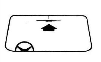 Hama elektronická anténa pro příjem VHF na sklo vozidla