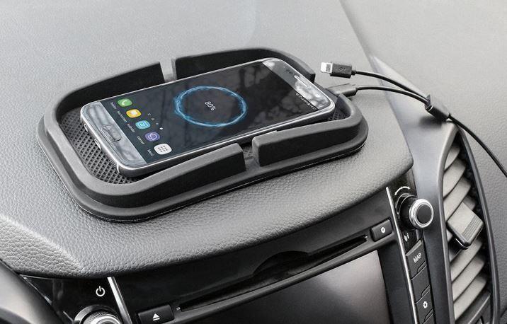 protiskluzový držák smartphone pro mobil s indukčním nabíjením