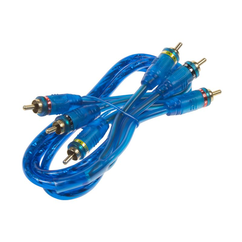 RCA audio/video kabel Hi-Q line, 1m