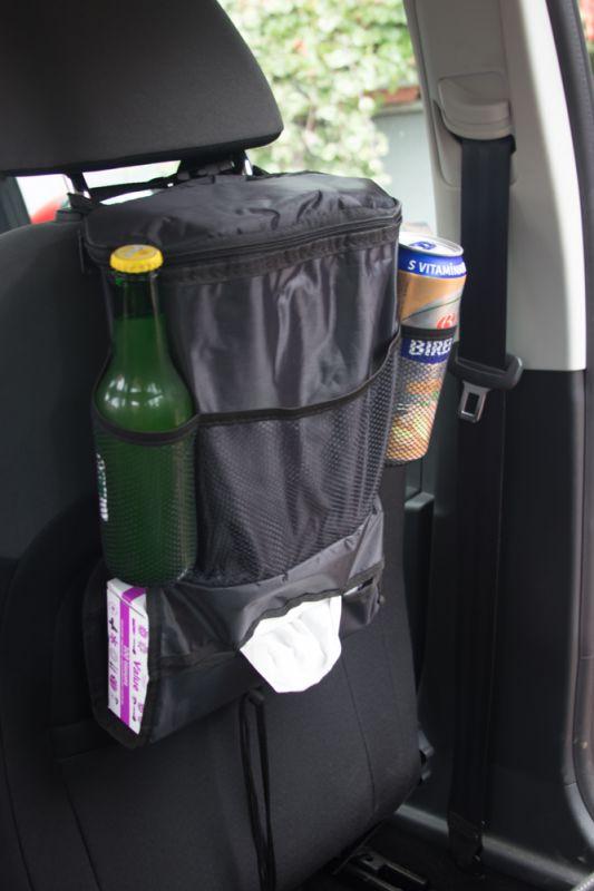 Závěsný organizér do auta s termo kapsou