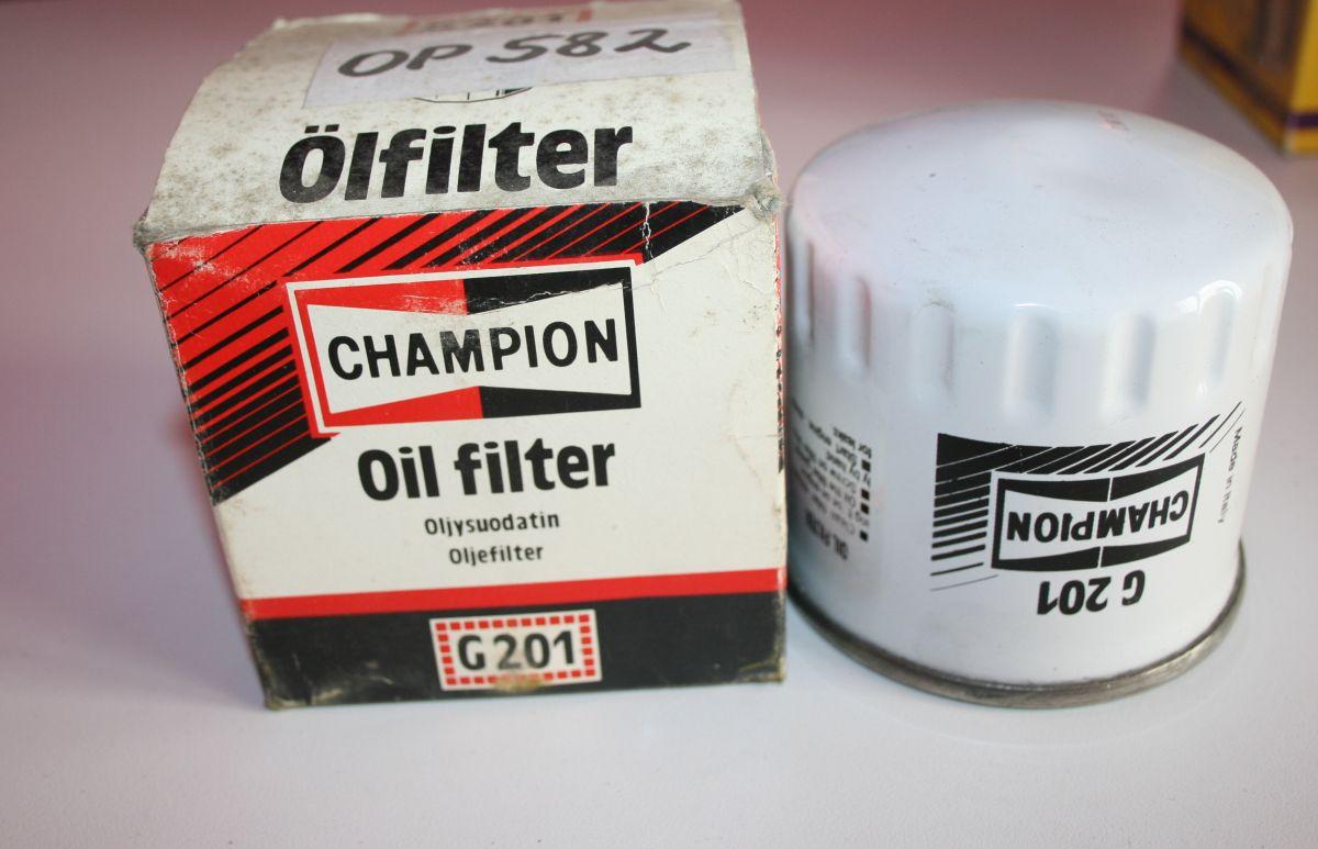 G201-CHAMPION - Olejový filtr