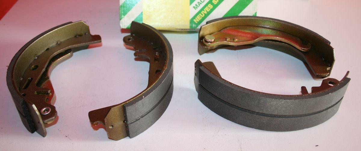 sada brzdových čelistí Opel Ascona C Kadett D