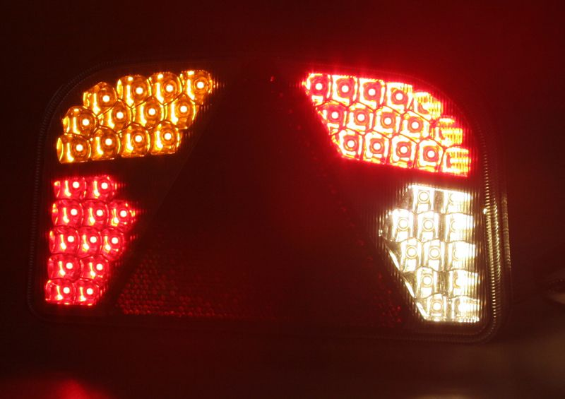 Sdružená LED lampa zadní levá