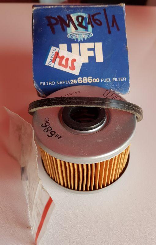 UFI - palivový filtr - DACIA OPEL RENAULT
