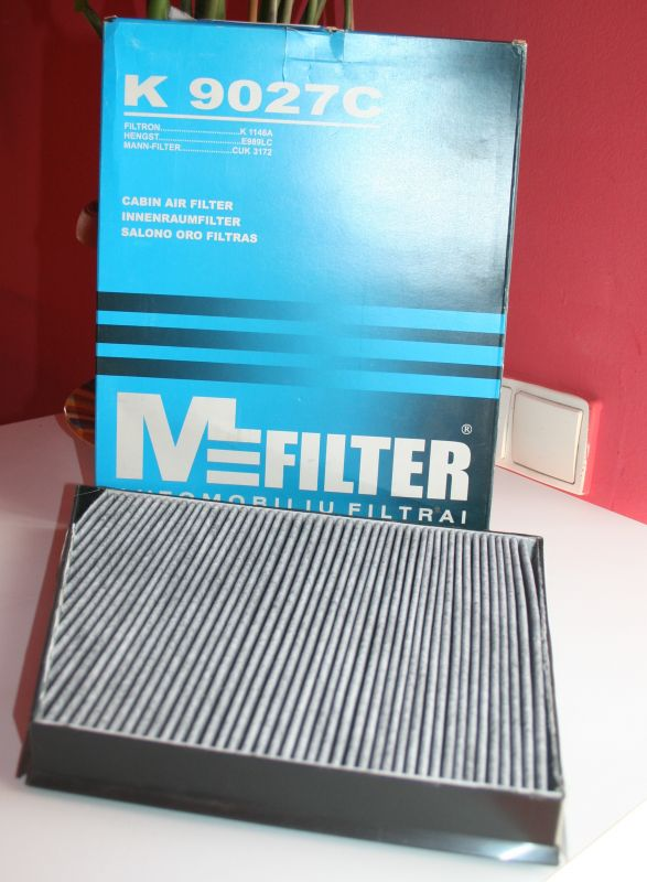 K9027C-MFILTER - Filtr, vzduch v interiéru
