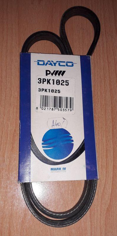 plochý řemen 3PK1025 Dayco Ford Sierra