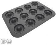 Forma na 12 ks koblížků / donutů 40x28,5 cm nepřilnavý povrch Grande