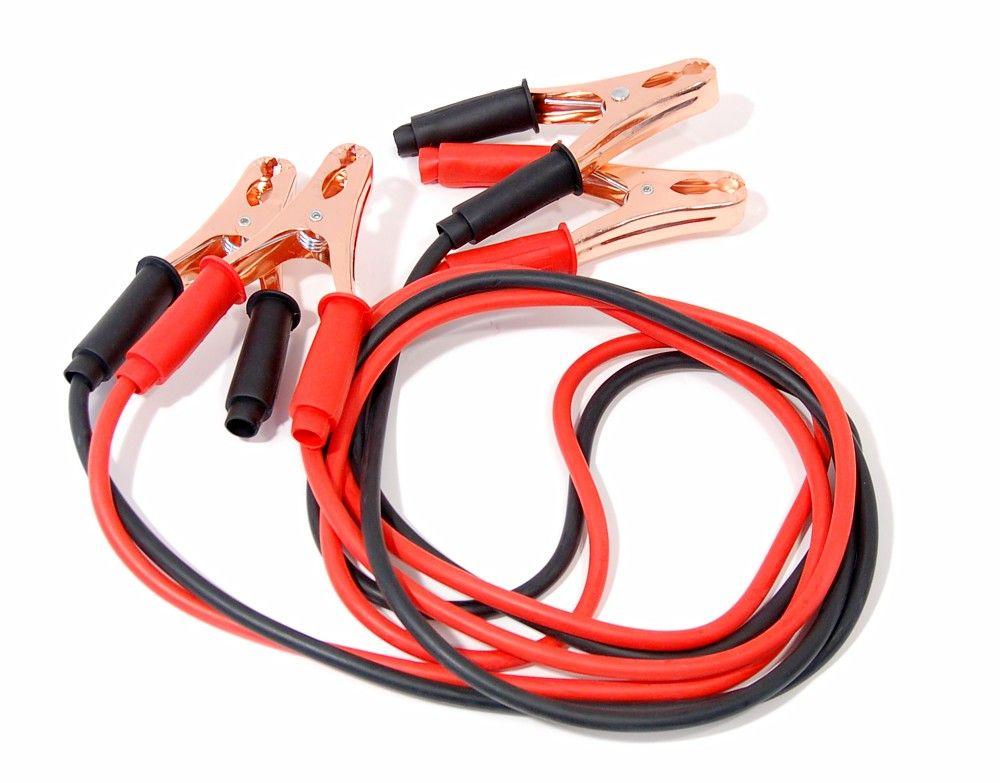 Kabely startovací 200 A 2,5m 100% měď