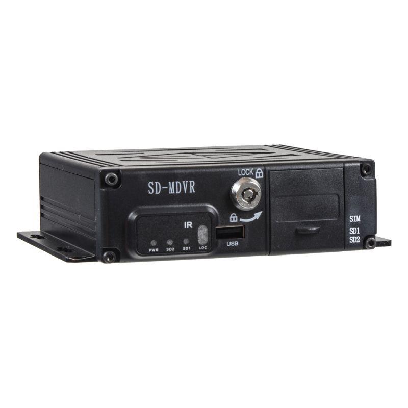 Černá skříňka pro záznam obrazu ze 4 kamer, GPS, 2x slot SD