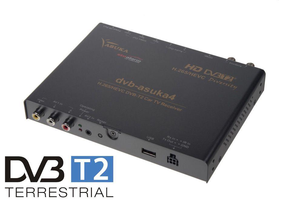 digitální tuner Asuka s USB - DVB-T2/HEVC/H.265