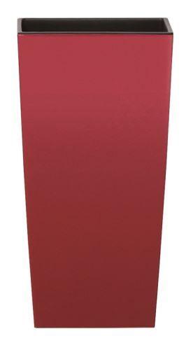Květináč URBI SQUARE bordo 61 cm výška