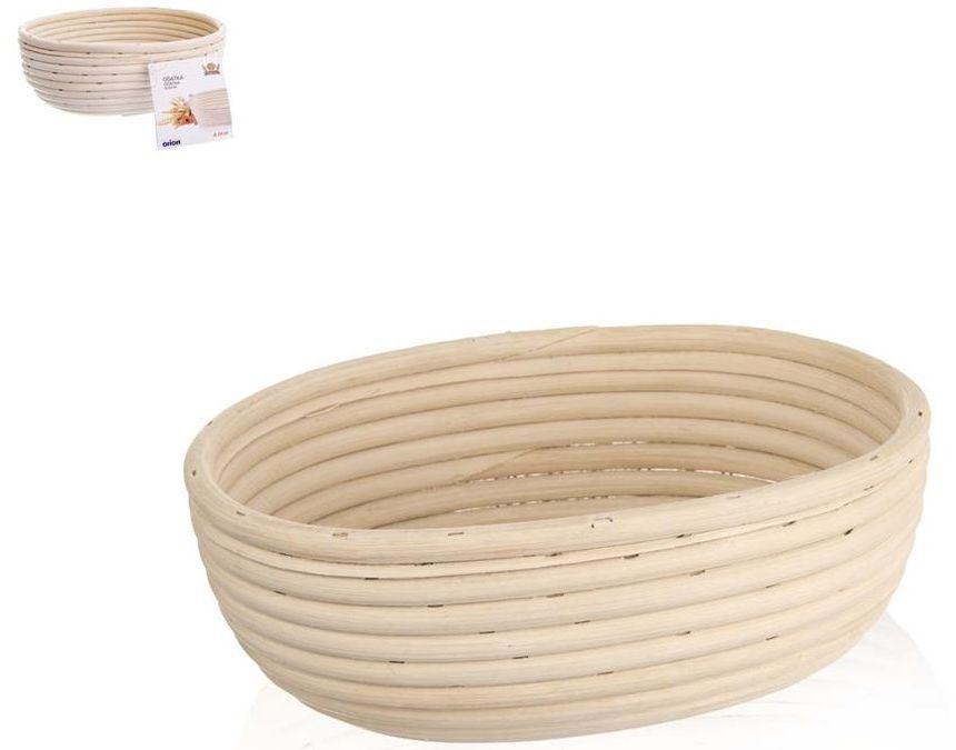 Ošatka ovalná 24x18,5x9 cm rattan