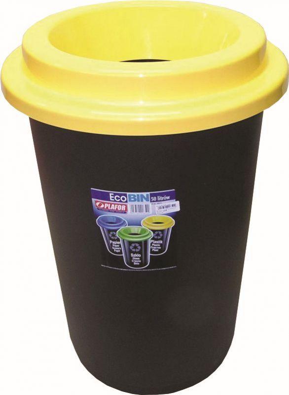 Koš odpadkový popelnice 50 l plast ECO