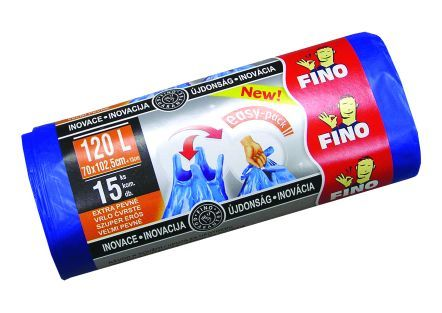 Pytel na odpadky 120l/15 ks FINO easy-pack