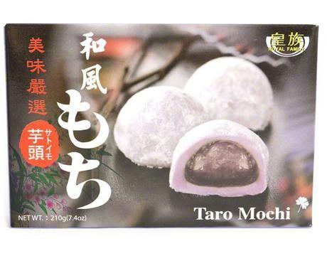 Royal Family mochi buchtičky s pastou Taro 210g (BANH DAY)
