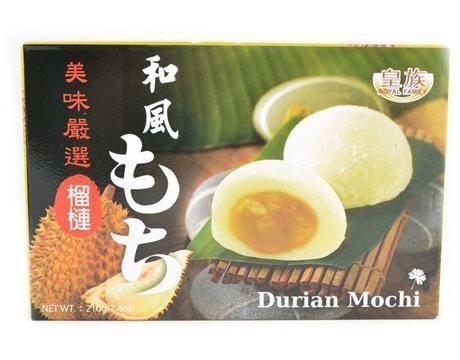Royal Family mochi buchtičky s příchutí durian 210g (BANH DAY)