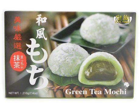 Royal Family mochi buchtičky s příchutí zeleného čaje210g (BANH DAY)