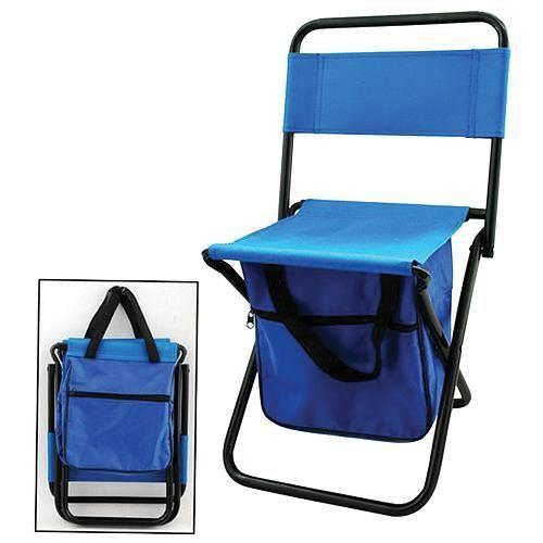 Židle stolička mini skládací 20x25x47 cm s taškou 15x15x25 cm
