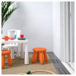 MAMMUT Dětská stolička, vn./venkovní, oranžová