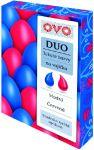 Barvy na vajíčka OVO DUO 2 x 20 ml (modrá, červená)