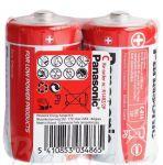 Baterie malé mono Panasonic Zinc fólie 2ks