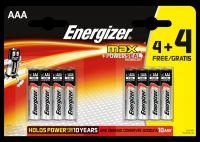 Baterie mikrotužka alkalická Energizer MAX