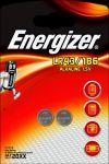 Baterie plochá knoflík LR43 / 186 Energizer