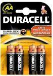 Baterie tužková alkalická Duracell blistr