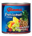 Koktejl ovocný ve sladkém nálevu 2650ml
