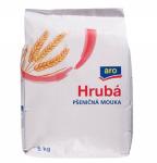 ARO Mouka pšeničná hrubá 1x5kgARO Mouka pšeničná hrubá 1x5kg