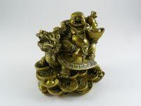 Figurka - Budha s dračí želvou