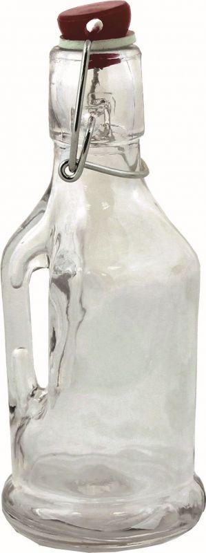 Láhev 190 ml sklo s pákovým uzávěrem