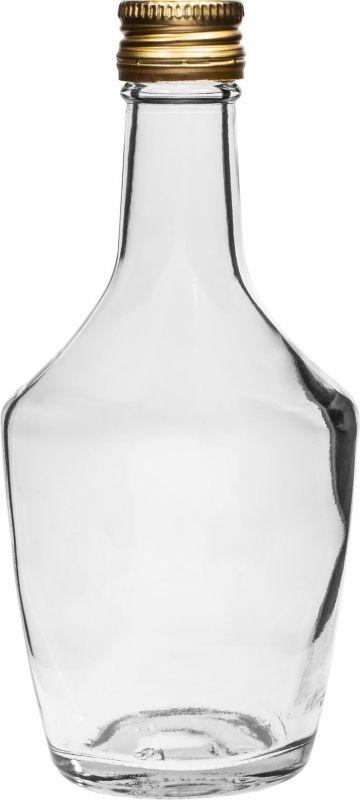 Láhev 250 ml 6 ks sklo s uzávěrem Bossmann