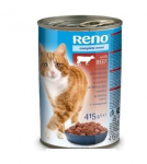 Reno konzerva kousky hovězí pro kočky 415g