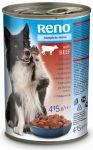 Reno konzerva kousky hovězí pro psy 1,24kg