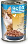 Reno konzerva kousky kuřecí complete pro kočky 415g