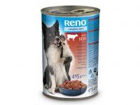 Reno konzerva pro psy kousky hovězí 415g