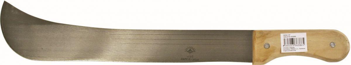 Mačeta s dřevěnou rukojetí