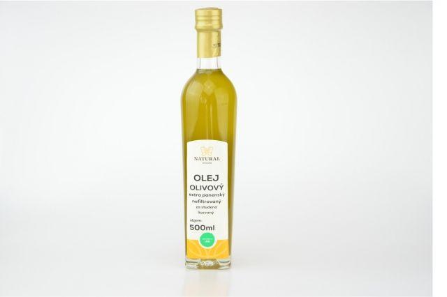 Olivový olej extra panenský nefiltrovaný 500ml