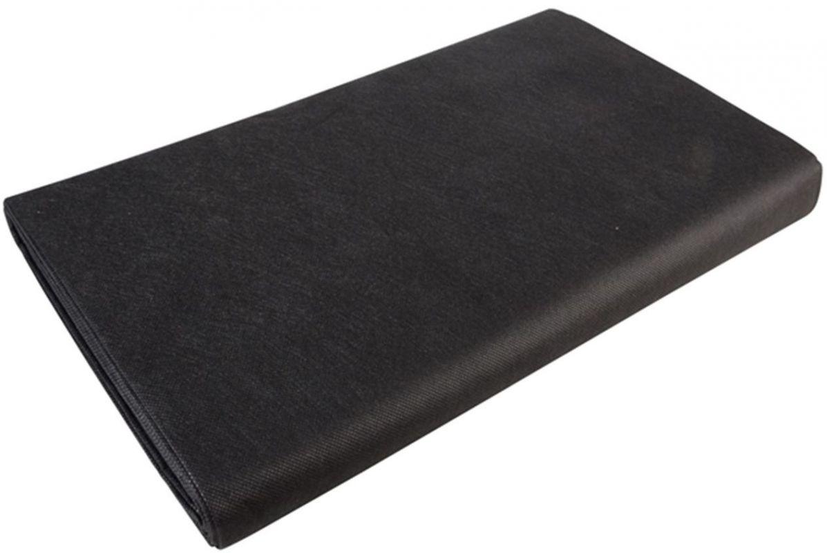 Textilie netkaná 1,6x5m - 50g/m2 černá