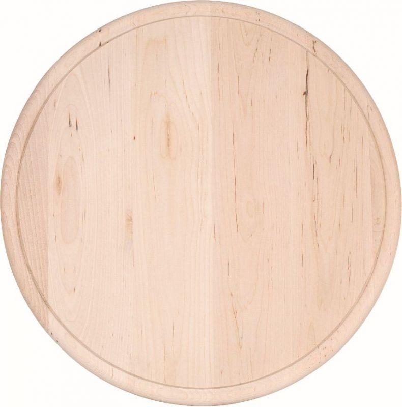 Prkénko krájecí kulaté 22cm dřevo