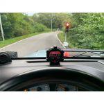 """Palubní DISPLEJ 2"""" LCD, GPS měřič rychlosti s vestavěným víceosým gyroskopem"""