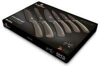 Sada nožů s nepřilnavým povrchem 6 ks Carbon Metallic Line